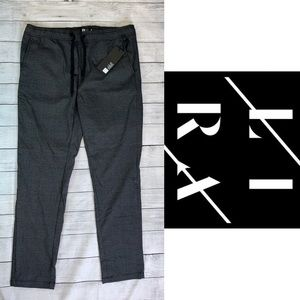LIRA Crtv//Scty  NWT Men's Plaid Drawstring Pants